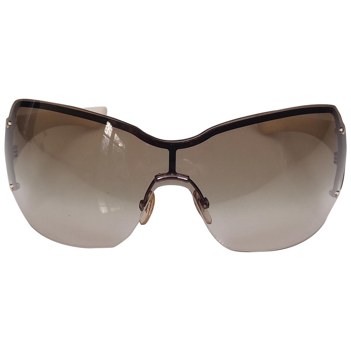 Gucci \N Ecru Sunglasses for Women \N