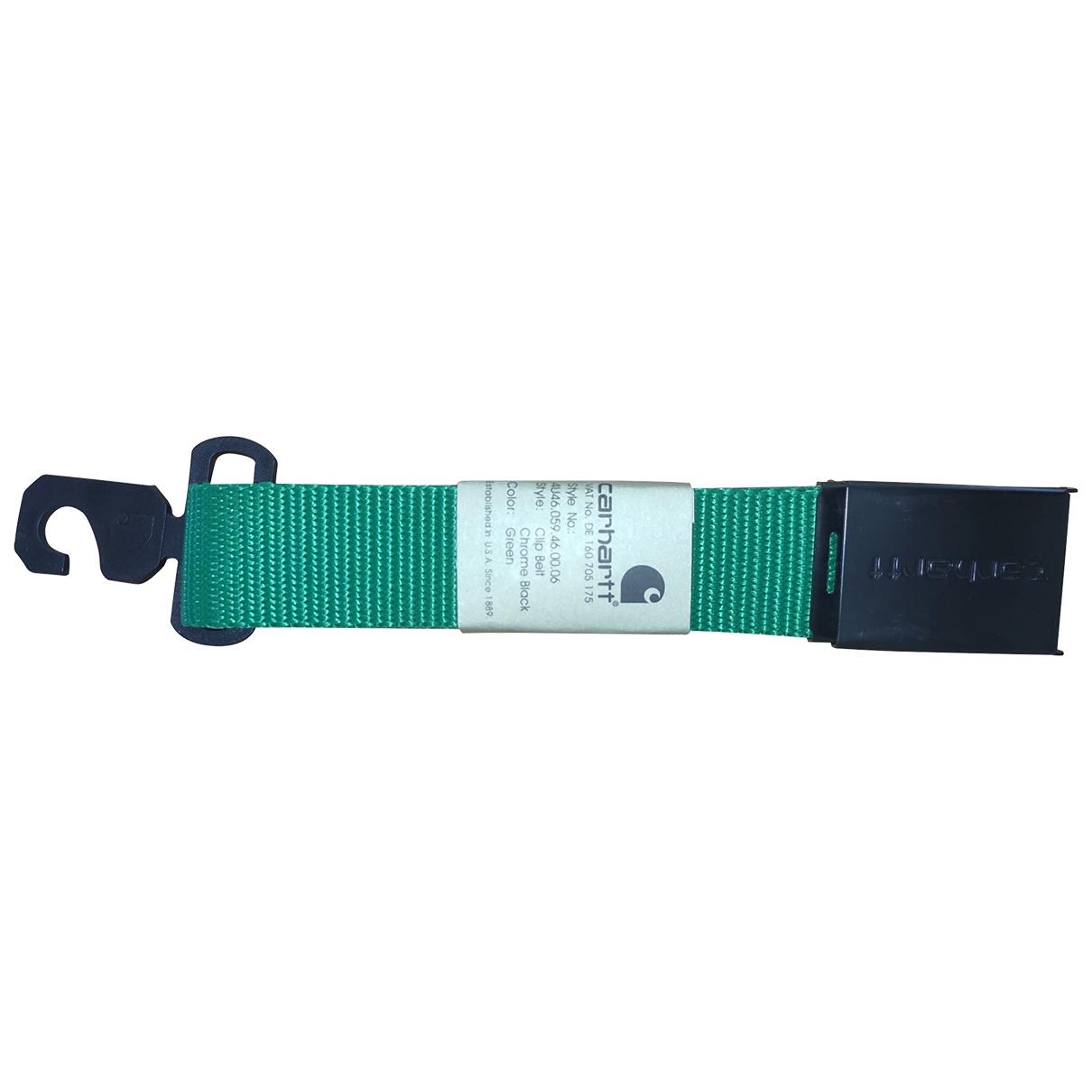 Carhartt \N Green belt for Men 100 cm