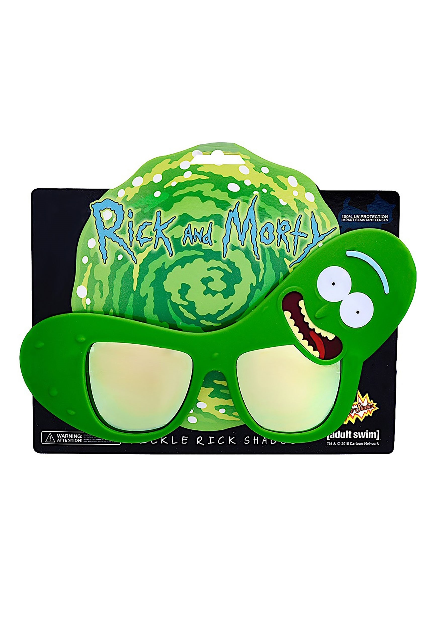Pickle Rick Glasses Rick and Morty
