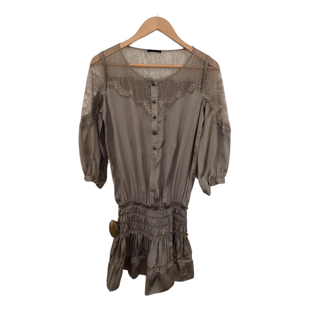 Pinko \N Kleid in  Khaki Polyester