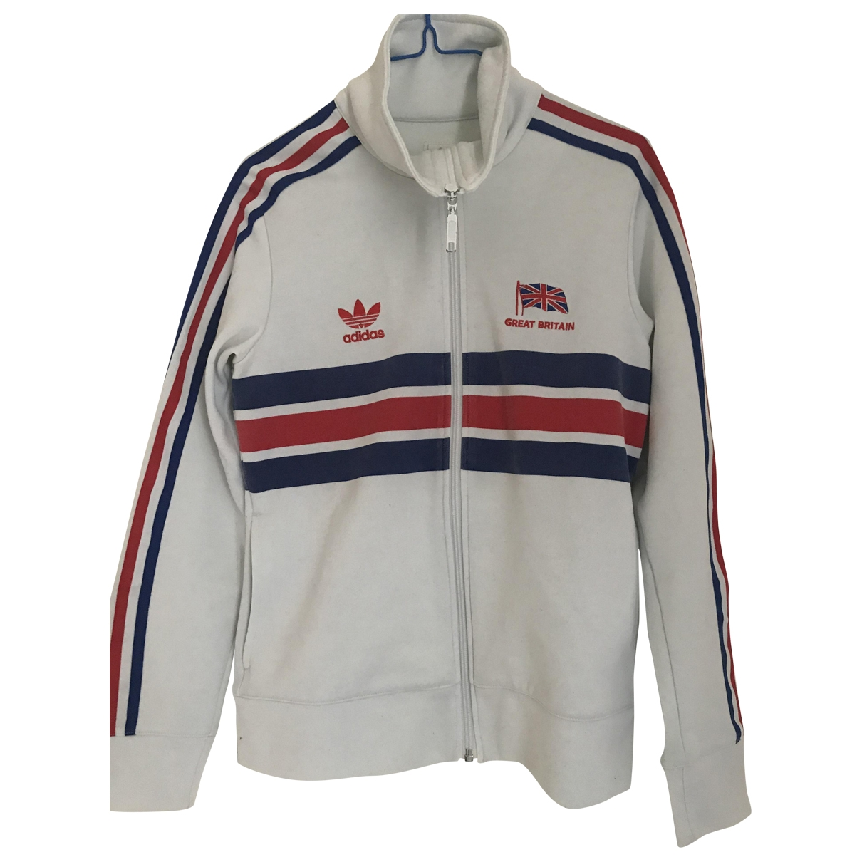Adidas \N White jacket for Women 44 IT