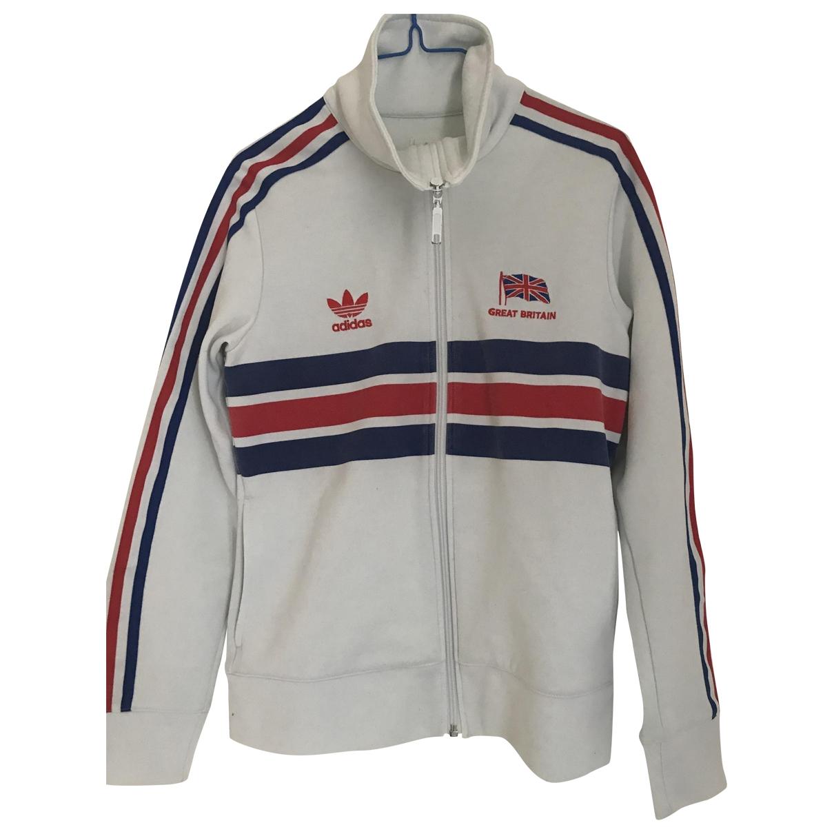 Adidas \N White jacket for Women 44 IT