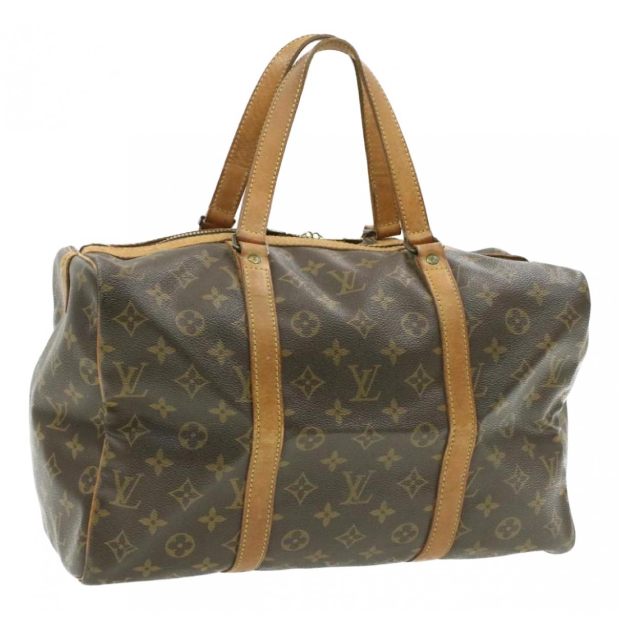 Bolso de viaje Sac souple  de Lona Louis Vuitton