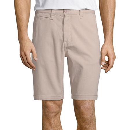 Arizona Flex Mens Chino Short, 29 , Brown