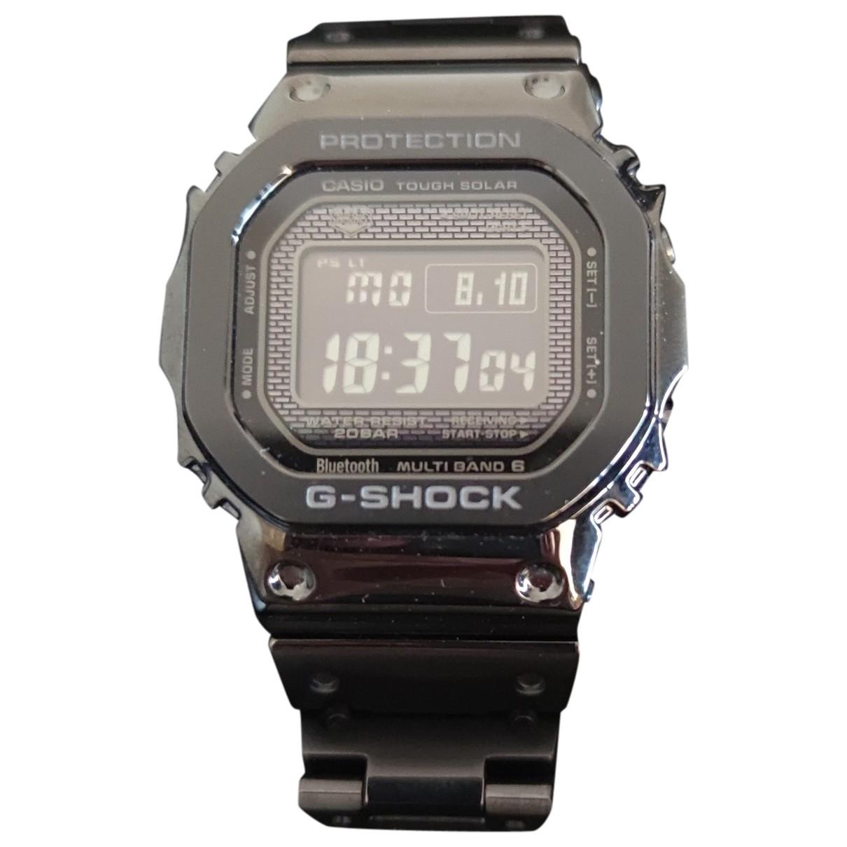 G-shock \N Black Steel watch for Men \N