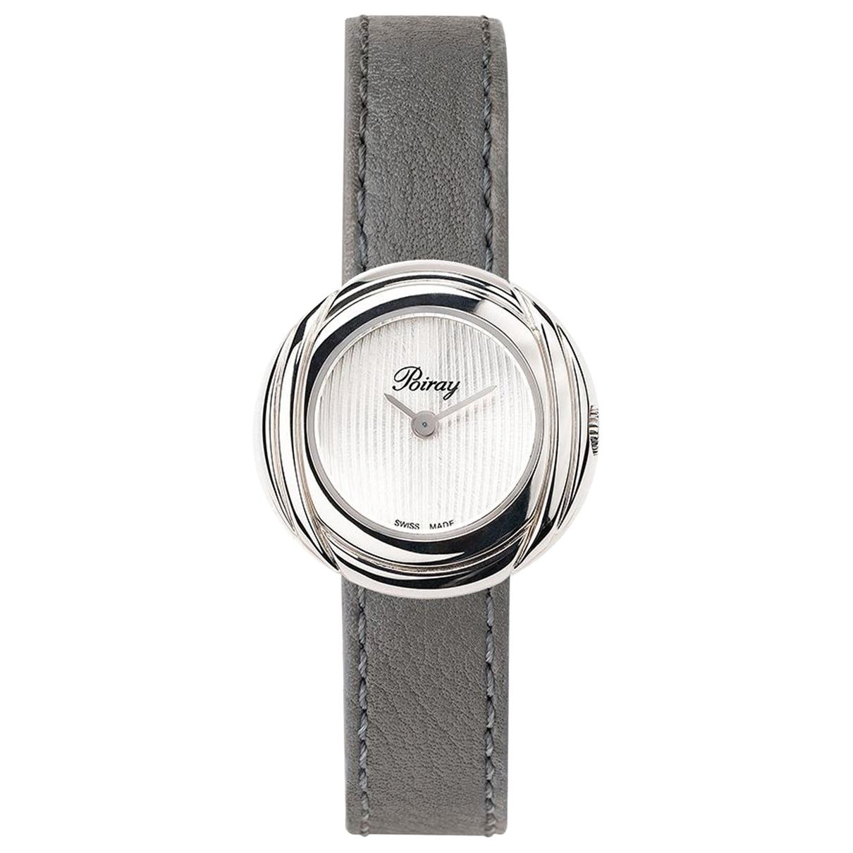 Poiray \N Khaki Steel watch for Women \N
