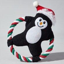 Christmas Cartoon Shaped Dog Toy