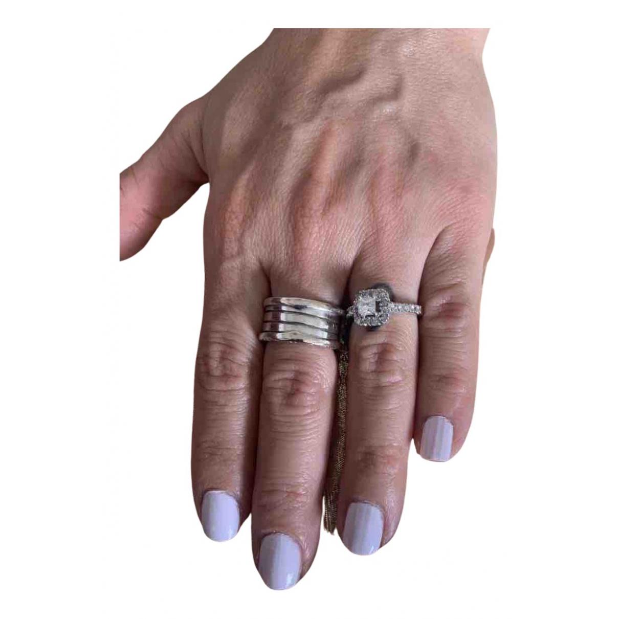 Bvlgari - Bague Serpenti pour femme en or blanc - blanc