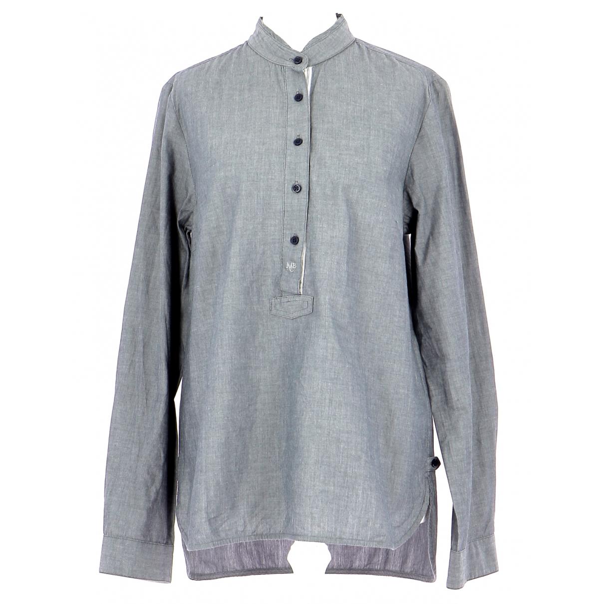 By Malene Birger - Top   pour femme en coton - gris
