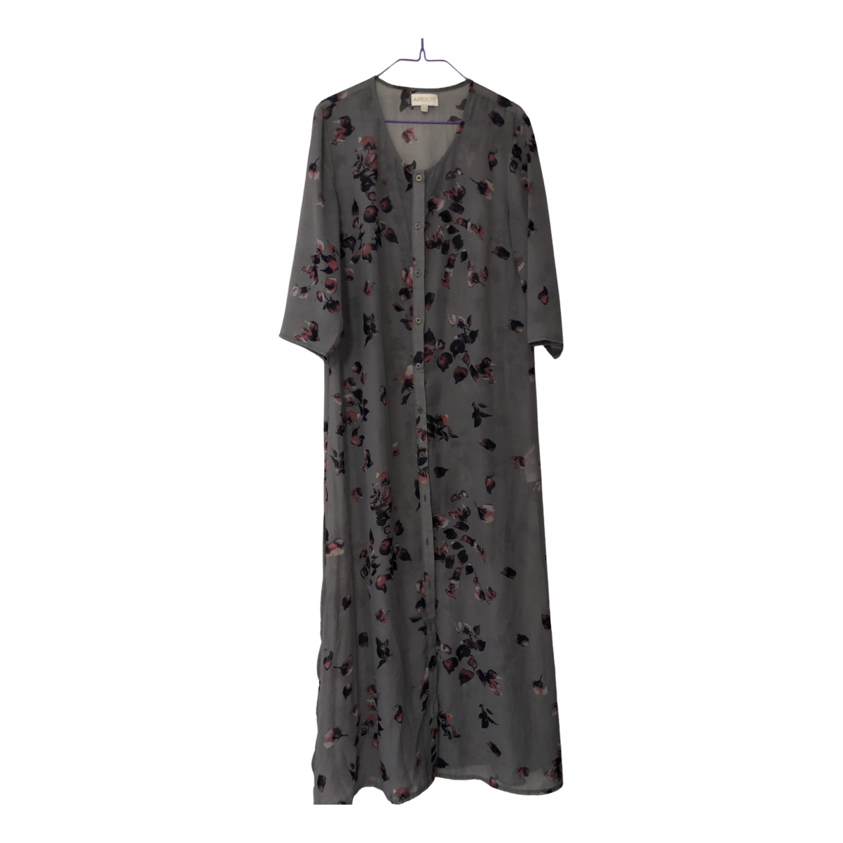 Non Signe / Unsigned Oversize Kleid in  Bunt Polyester