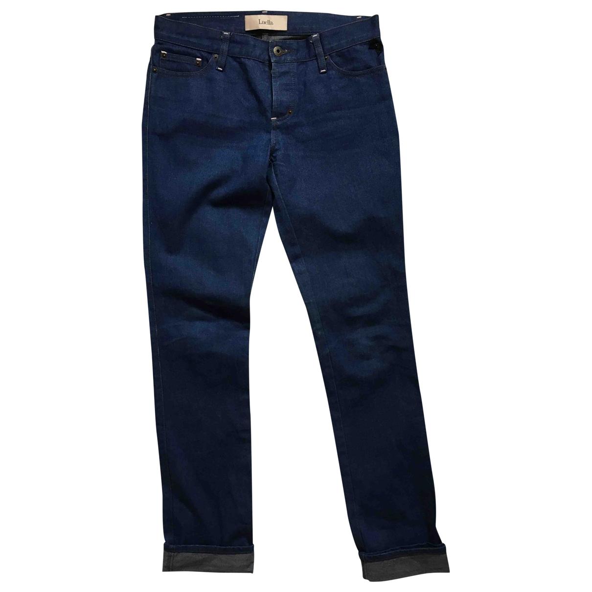 Luella - Jean   pour femme en denim - bleu
