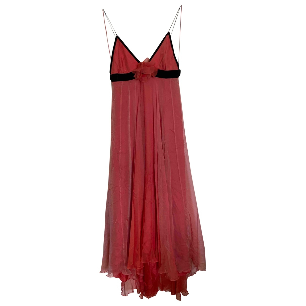 Matthew Williamson \N Orange Silk dress for Women 12 UK