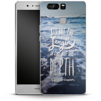Huawei P9 Silikon Handyhuelle - Depth von Leah Flores