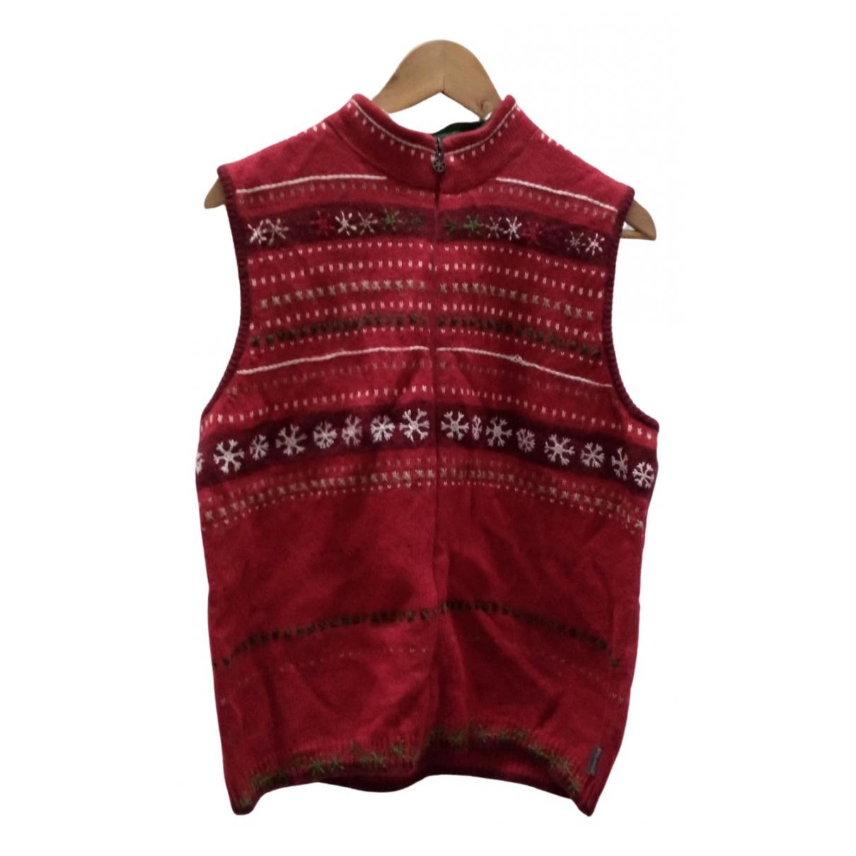 Woolrich \N Pullover.Westen.Sweatshirts  in  Rot Wolle