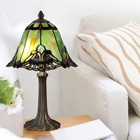 Dale Tiffany Green Haiawa Mini Lamp, One Size , Multiple Colors