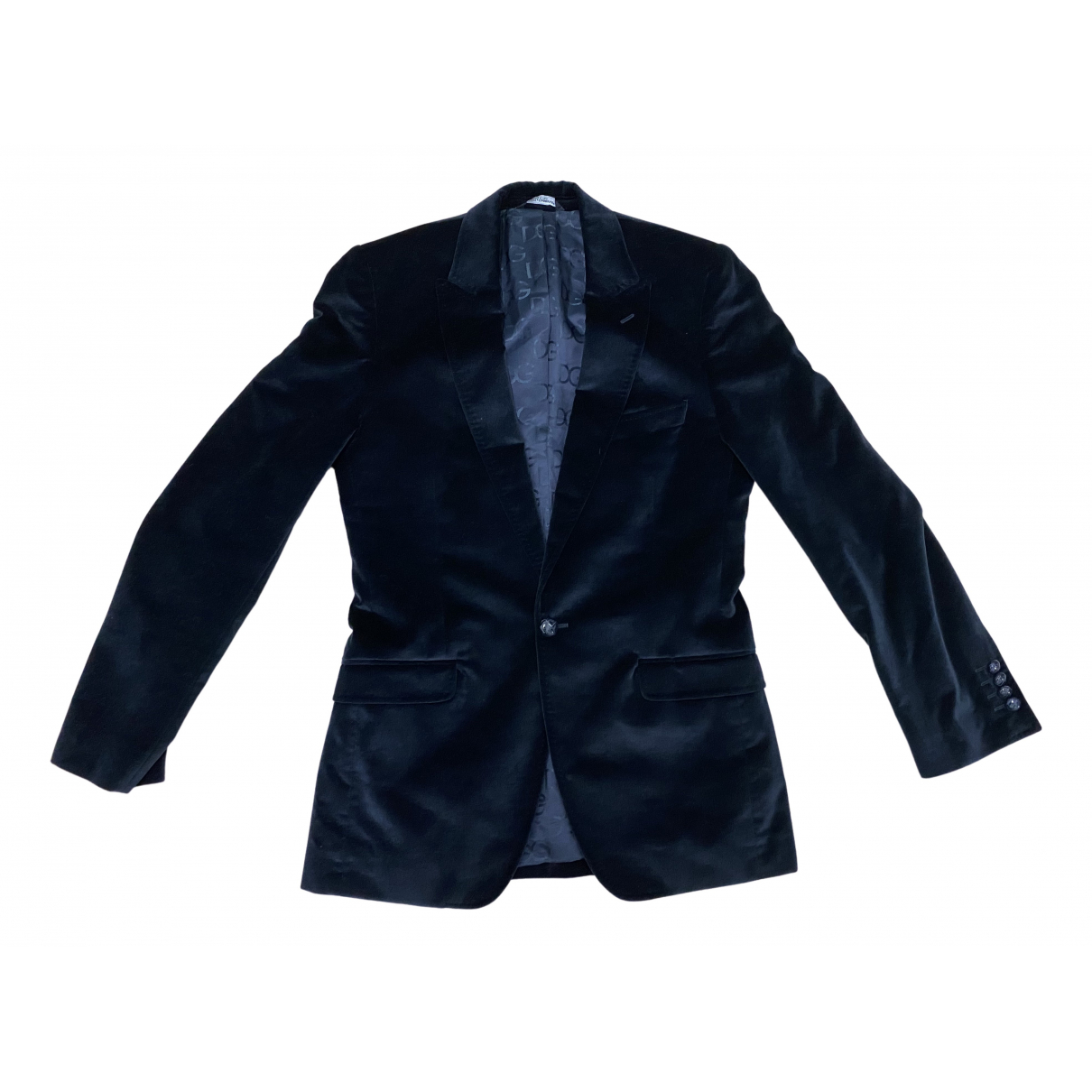 Dolce & Gabbana N Navy Velvet jacket  for Men L International