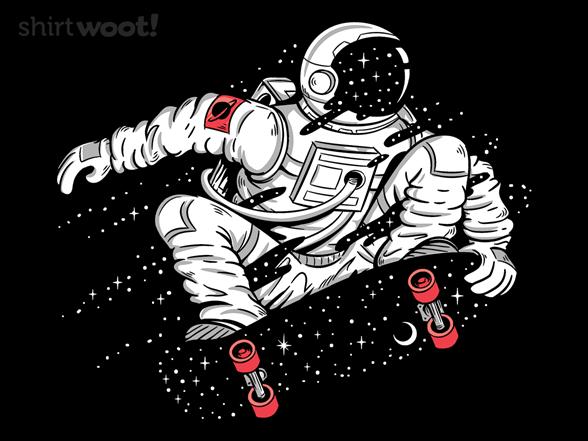 Space Boarding T Shirt