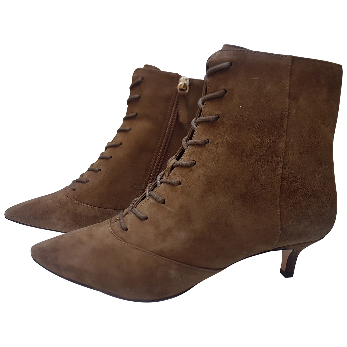J.crew \N Brown Suede Ankle boots for Women 36.5 EU