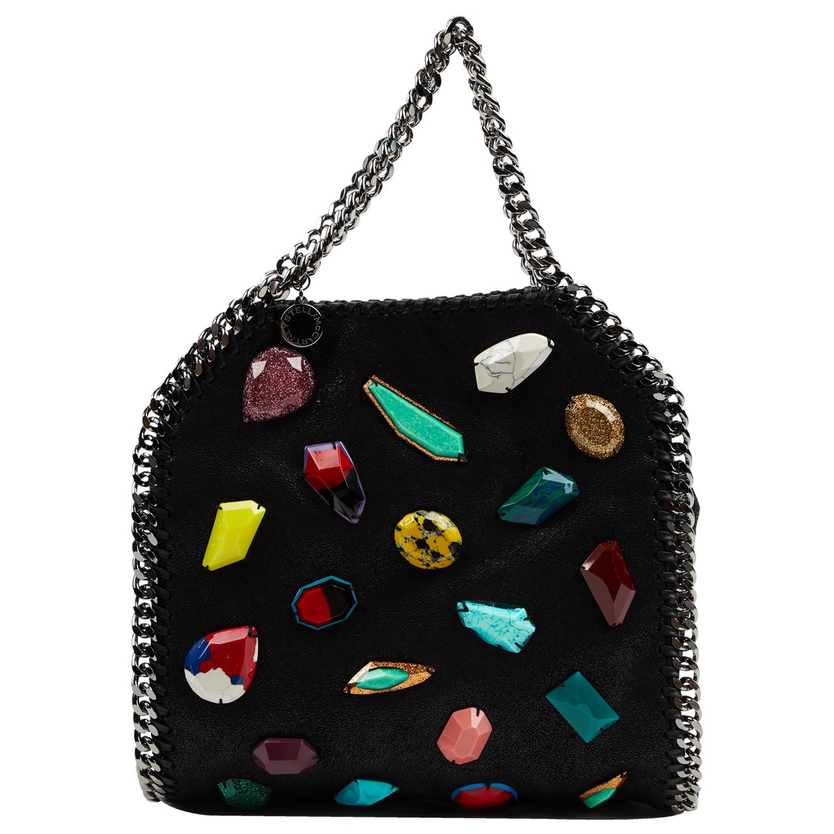 Stella Mccartney Falabella Handtasche in  Schwarz Synthetik