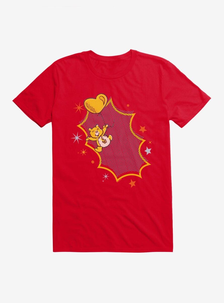 Care Bears Retro Birthday Bear Balloon T-Shirt