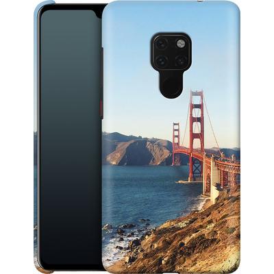 Huawei Mate 20 Smartphone Huelle - Golden Gate Galore von Omid Scheybani