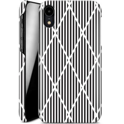 Apple iPhone XR Smartphone Huelle - Black Diamonds von caseable Designs