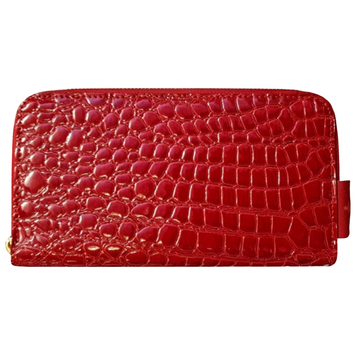 Vivienne Westwood - Portefeuille   pour femme en cuir - rouge