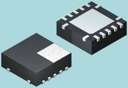 ON Semiconductor 74LCX125BQX, Quad-Channel Non-Inverting 3-State Buffer, 14-Pin DQFN (20)