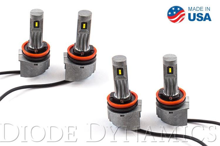 Diode Dynamics DD0286Q H11 SLF LED Cool White Set of 4