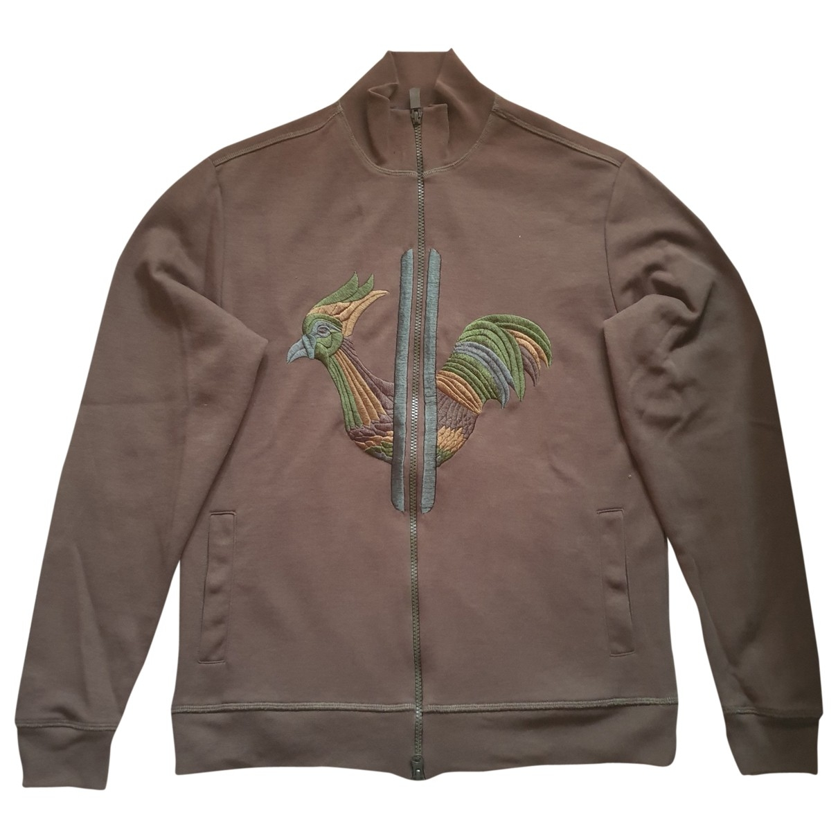 Rossignol \N Pullover.Westen.Sweatshirts  in  Khaki Baumwolle