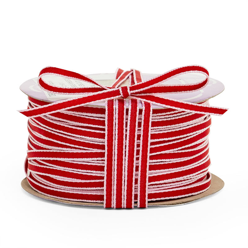 4mm X 40 Yards Red Simplicity Grosgrain Ribbon by Ribbons.com