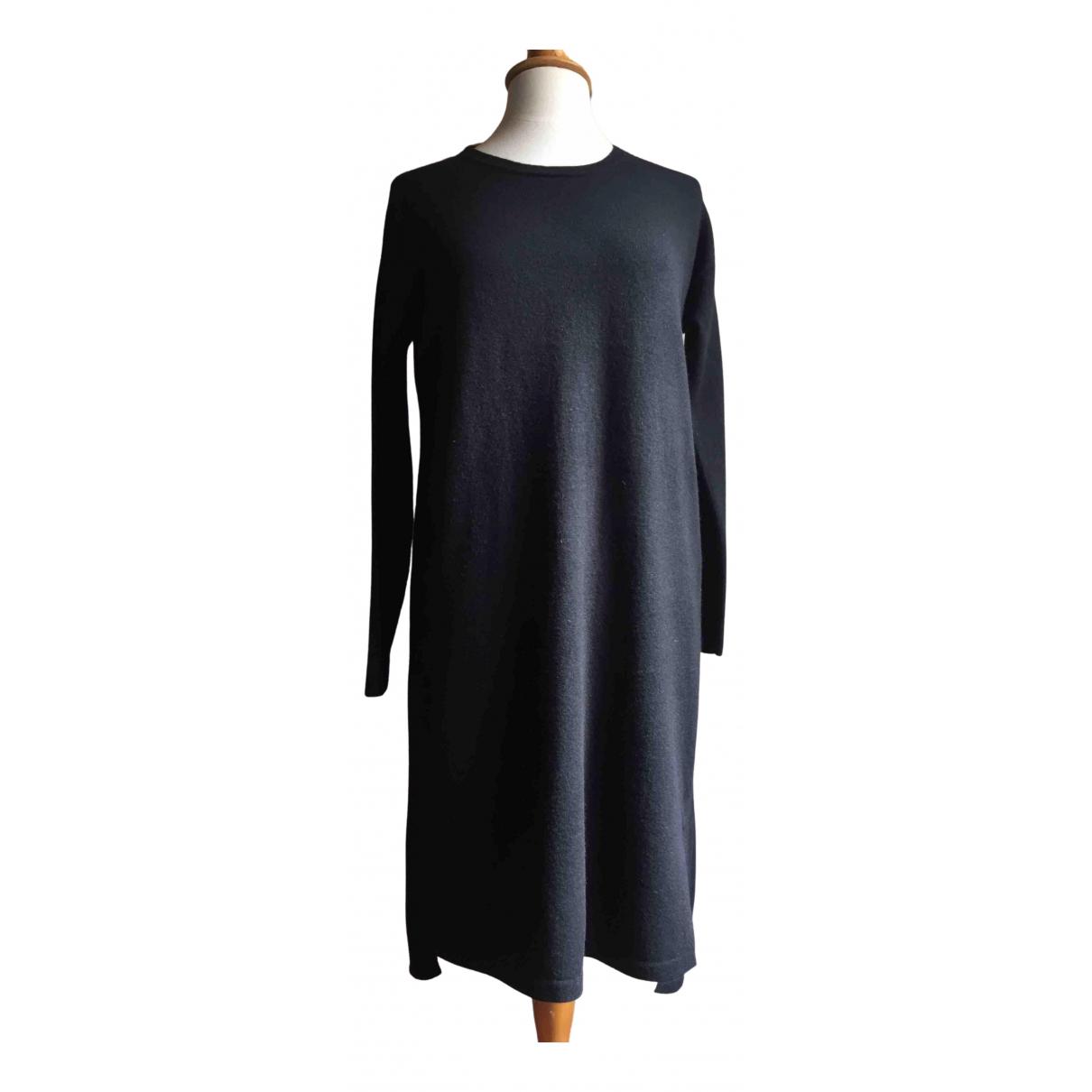Allude \N Kleid in  Schwarz Wolle