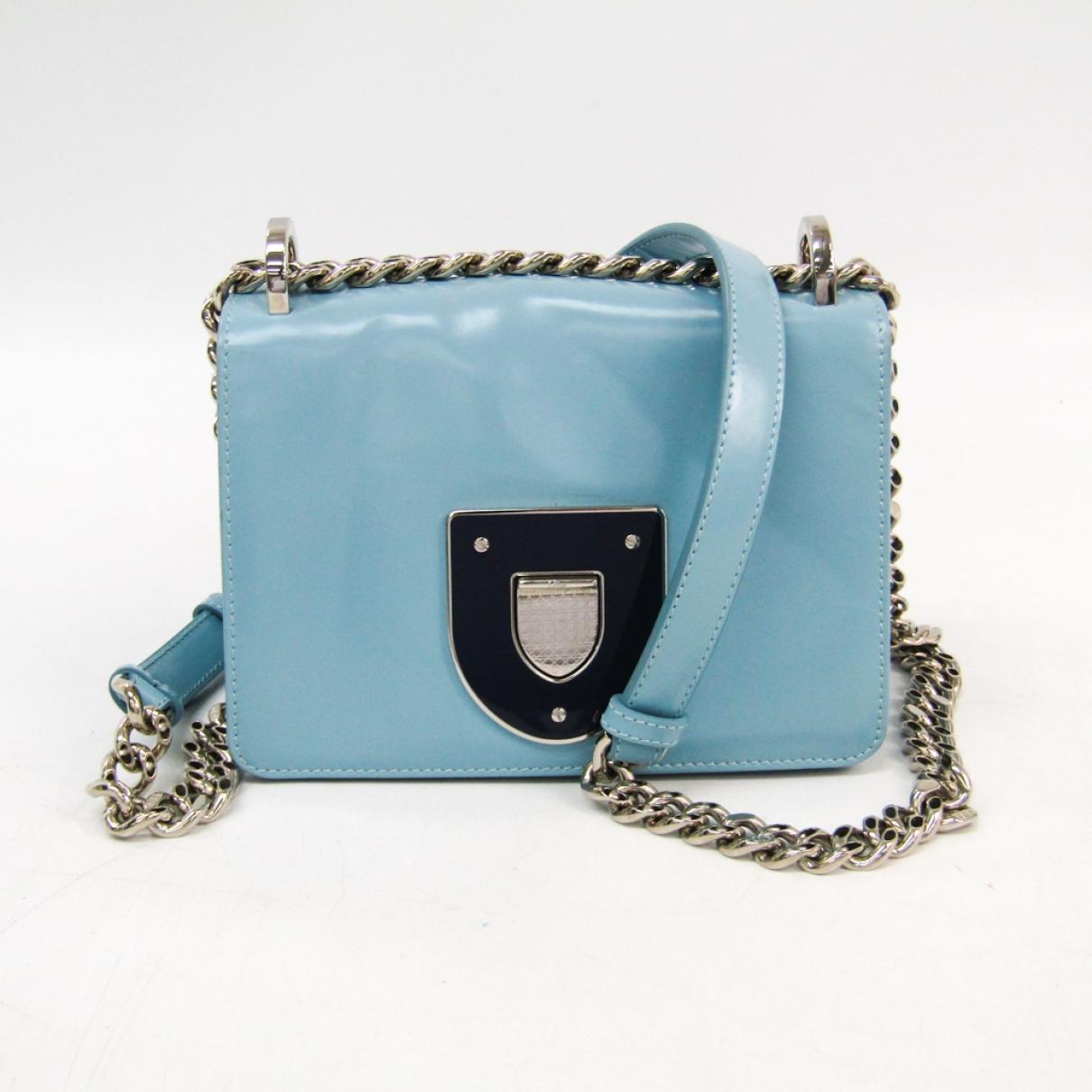 Dior Diorama Blue Leather handbag for Women \N