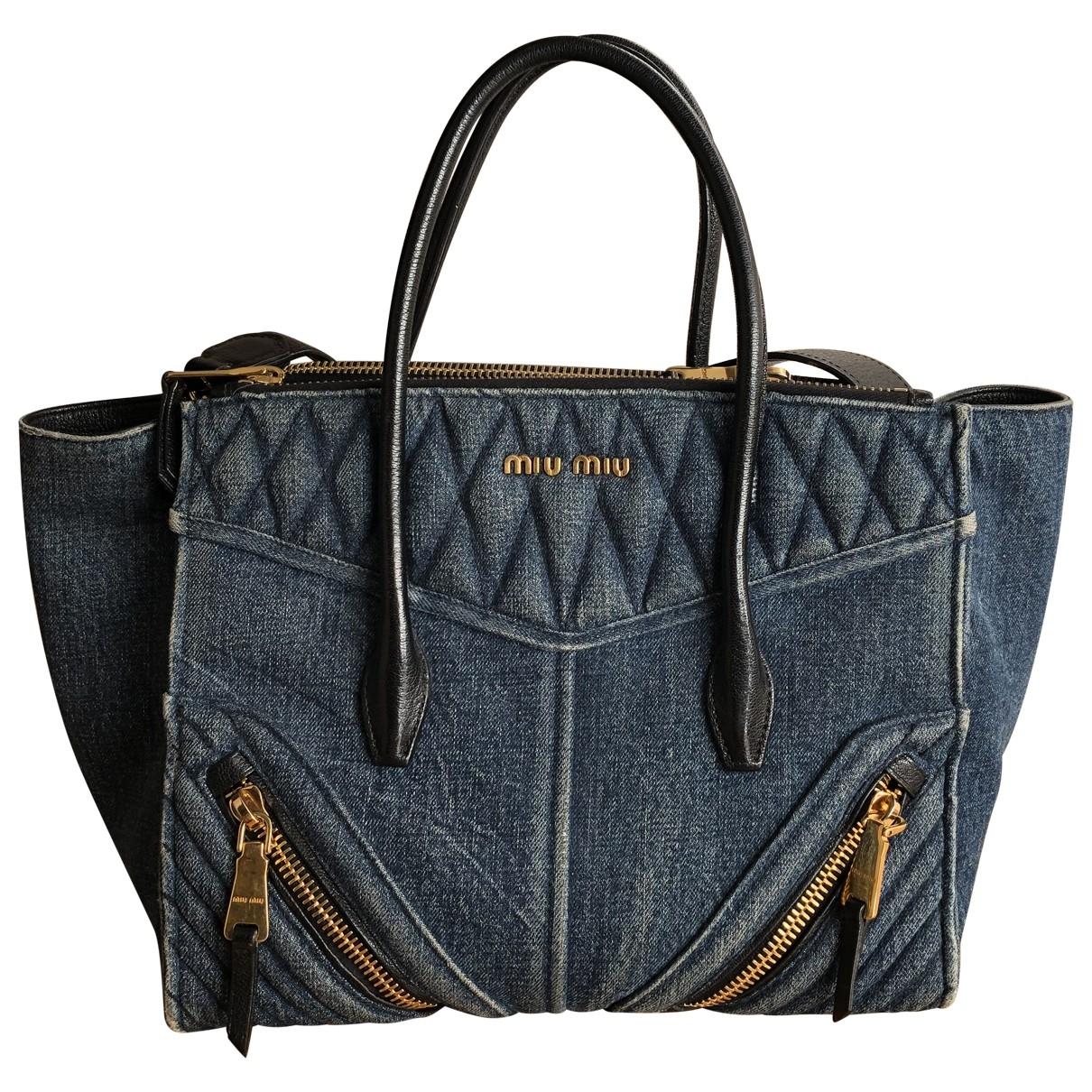 Miu Miu \N Denim - Jeans handbag for Women \N