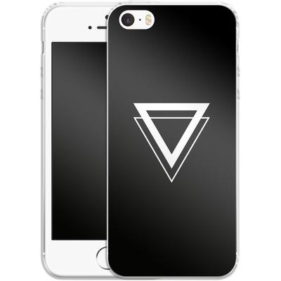 Apple iPhone 5s Silikon Handyhuelle - Falling von caseable Designs