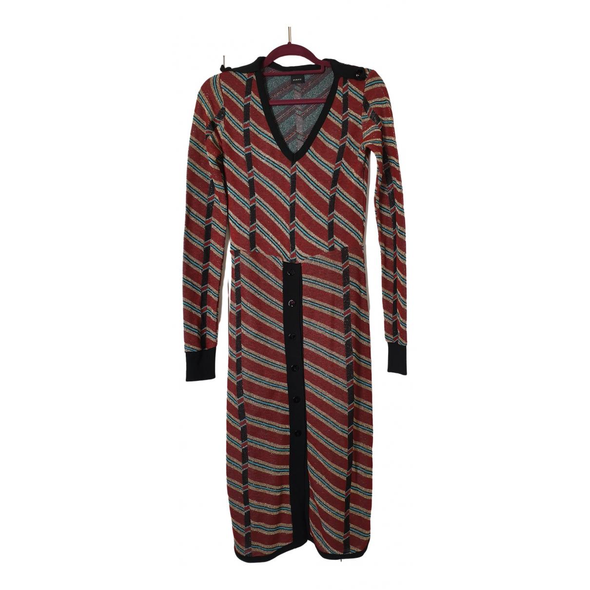 Pinko \N Multicolour Cotton dress for Women 10 UK