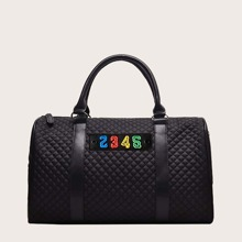 Guys Quilted Boston Bag