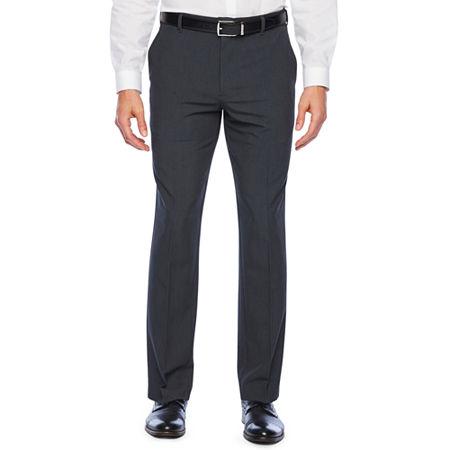 Van Heusen Eventemp Dress Pant Mens Straight Fit, 32 32, Gray