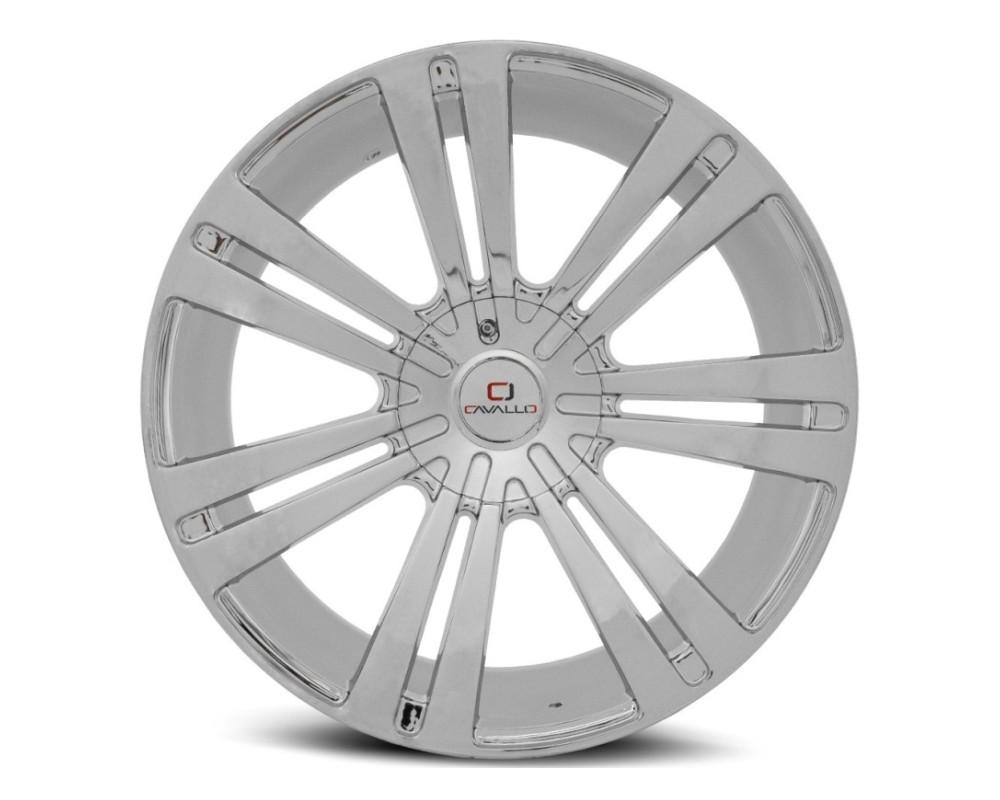 Cavallo CLV-16 Wheel 20x8.5 5x115|5x120 15mm Chrome