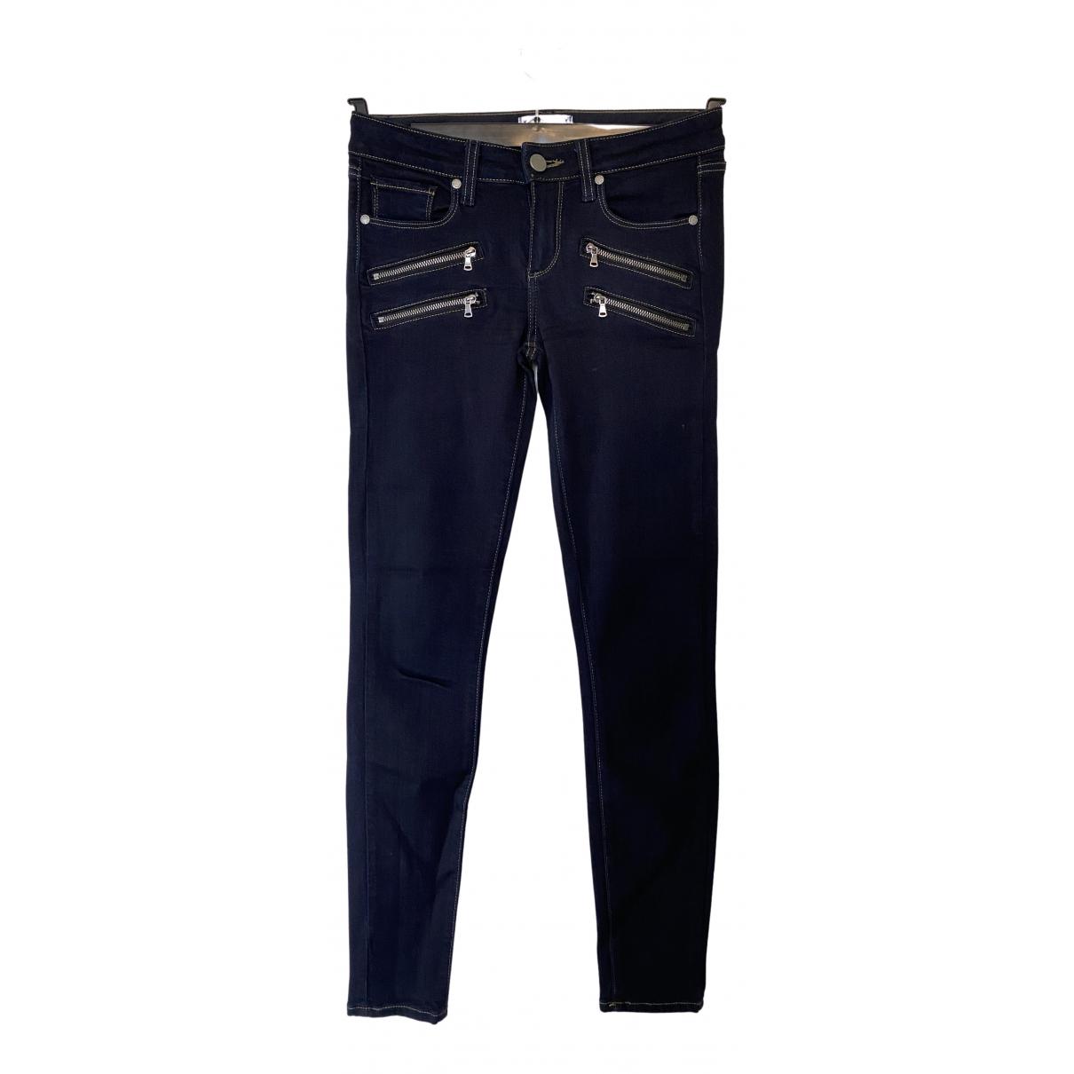 Paige Jeans N Blue Denim - Jeans Trousers for Women 10 UK