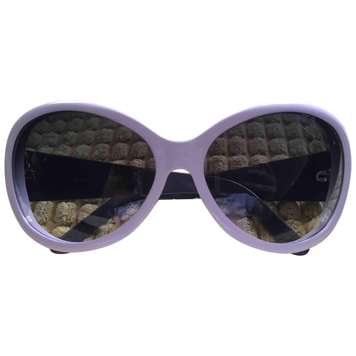 D&g \N White Sunglasses for Women \N