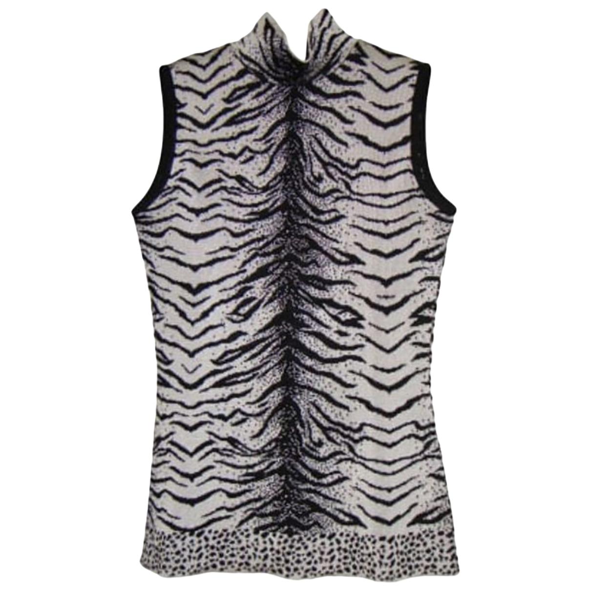 Dior \N Grey Silk  top for Women 36 FR