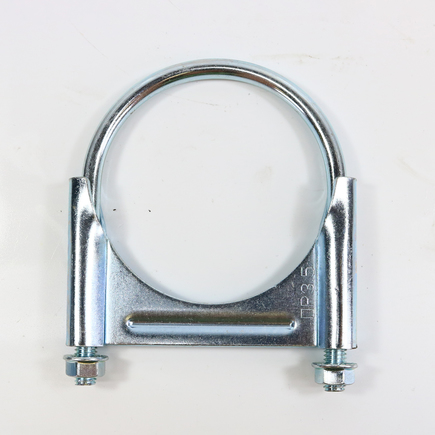 Power Products GR476 - U Bolt Clamps   Guillotine   4.44 Zinc Round...
