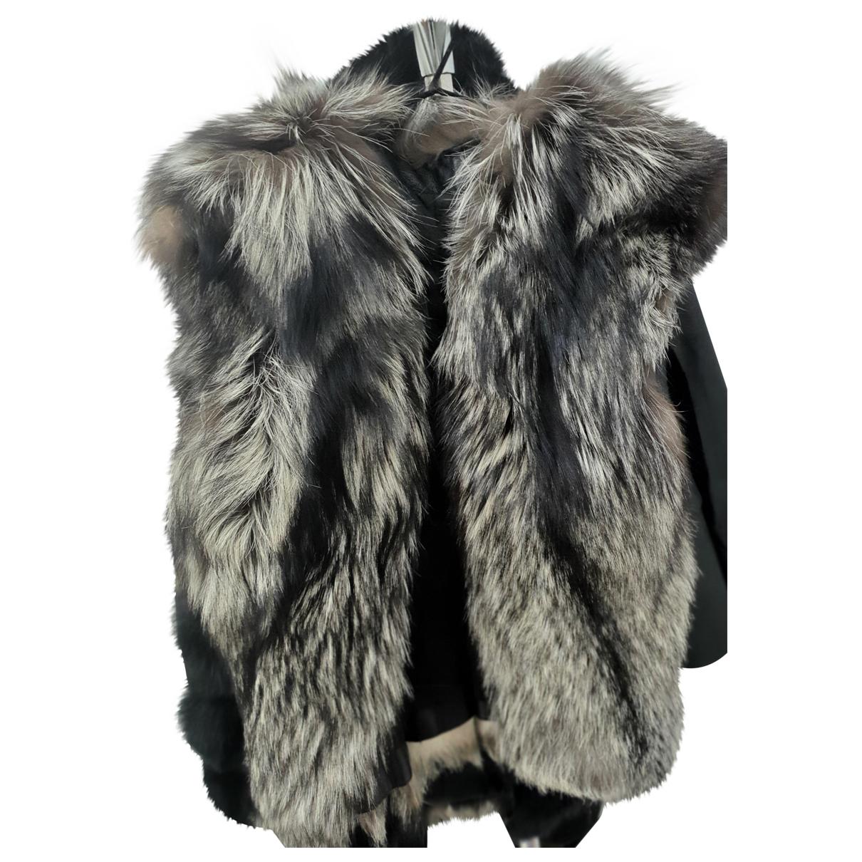 - Veste   pour femme en renard