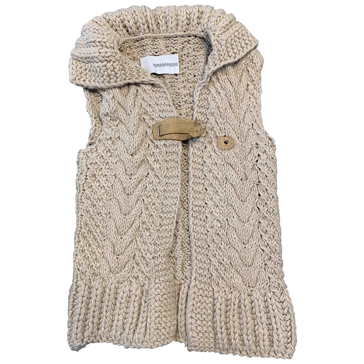 Ermanno Scervino \N Pullover in  Beige Wolle