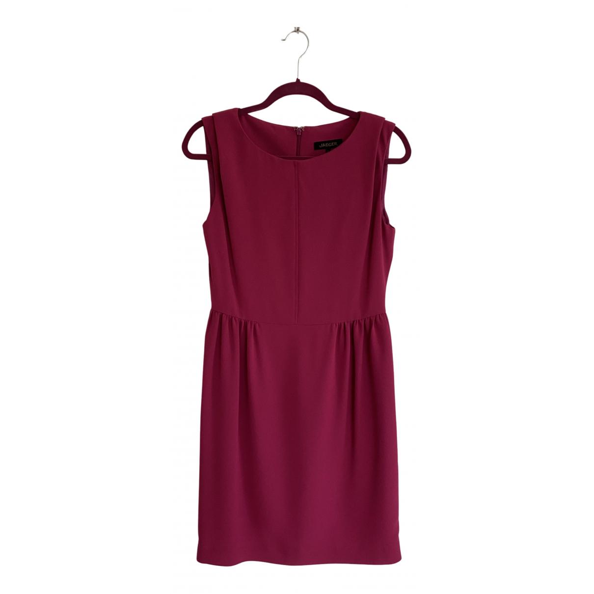 Jaeger - Robe   pour femme - rose