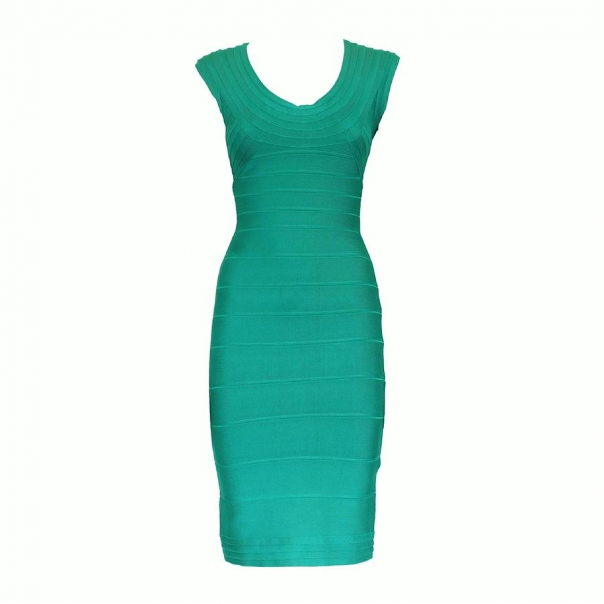Herve Leger - Robe   pour femme - vert