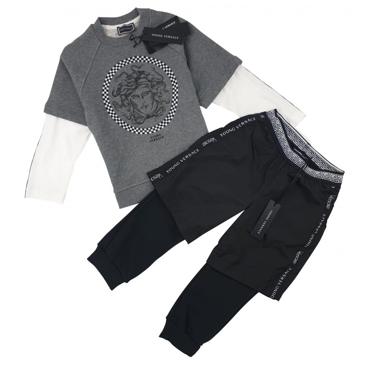 Versace \N Sets in  Grau Baumwolle