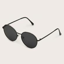 Men Round Lens Sunglasses
