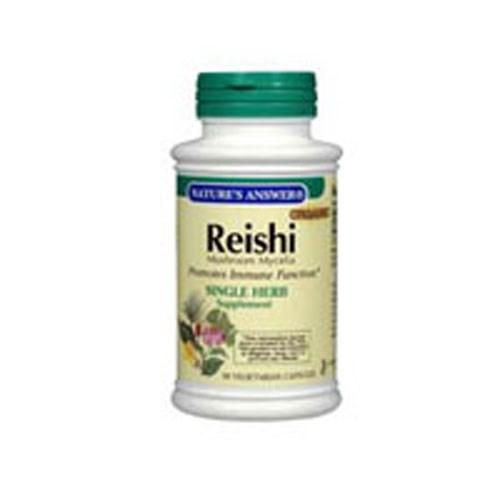 Reishi Mushroom Mycelia 90 Vcaps by Natures Answer